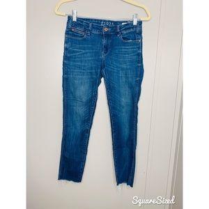 Zara 1975 Mid Rise Skinny Jeans 4